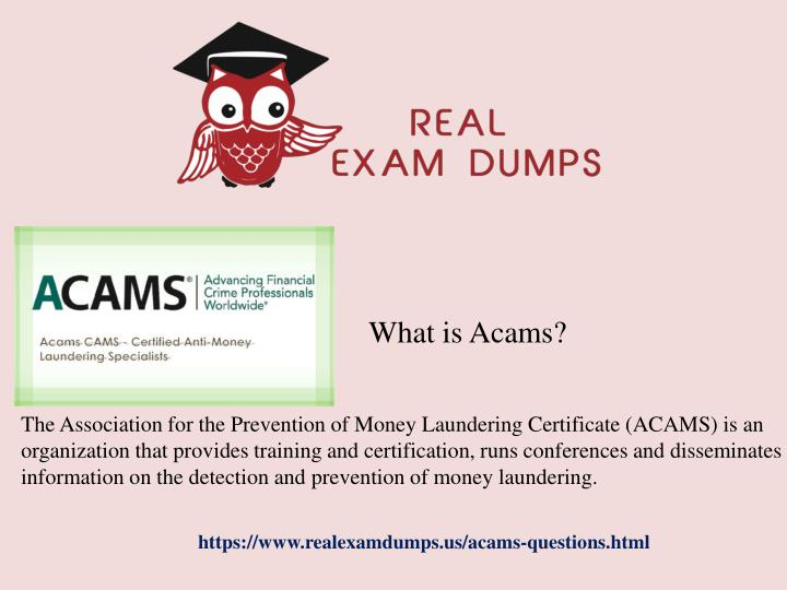 ppt - cams exam questions and verified answers with guarantee ...