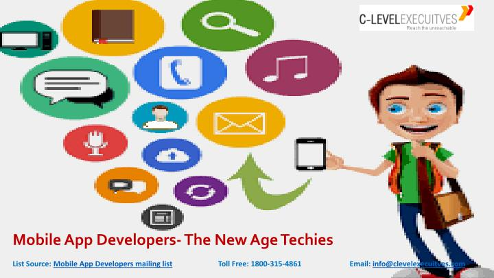 mobile app developers the new age techies n.