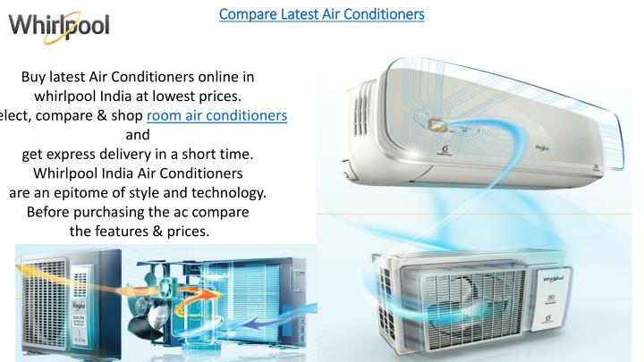 compare latest air conditioners n.