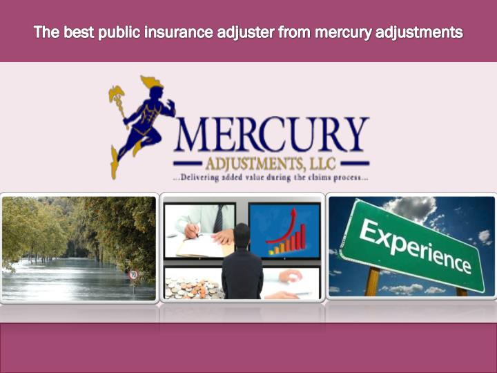 the best public insurance adjuster from mercury n.