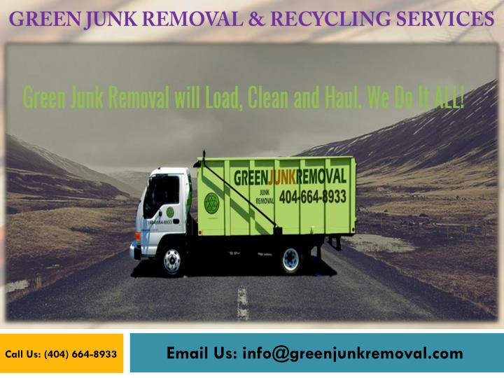 green junk removal recycling services n.