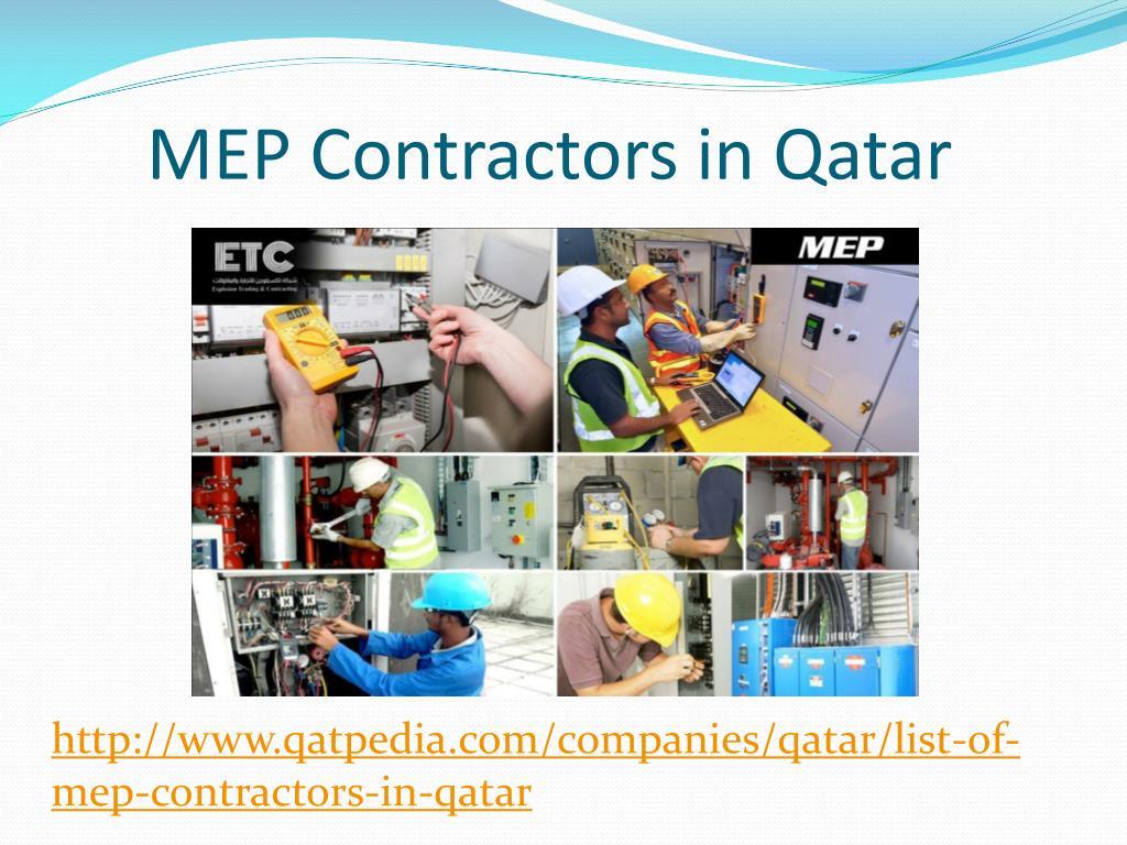 PPT - Find MEP Contractors in Qatar PowerPoint Presentation