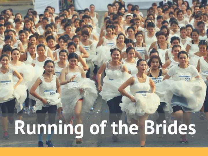 running of the brides n.