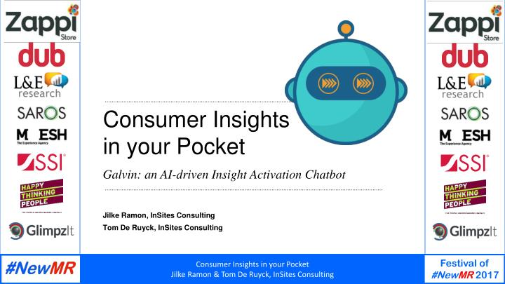 consumer insights in your pocket n.