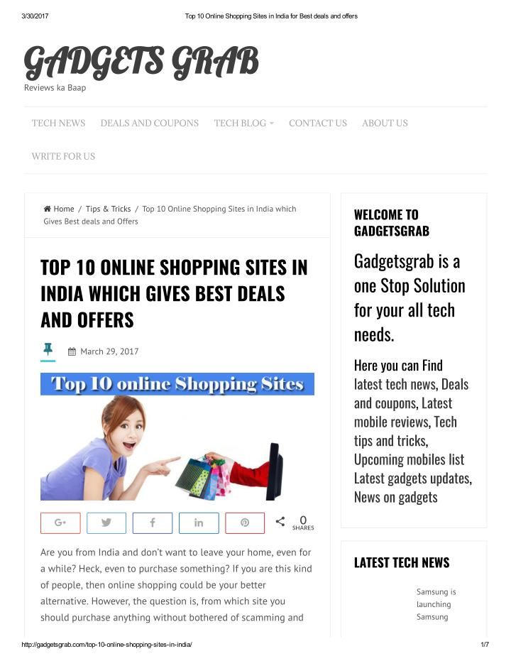Dealofthedayindia India`s No.1# Deal Website for Cheapest & Latest Deals Of The Day,Best Offers Online,Today Hot Deals,One day Discounts,Offer of the day & Top free deals.