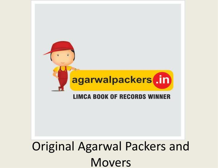 original agarwal packers and movers n.