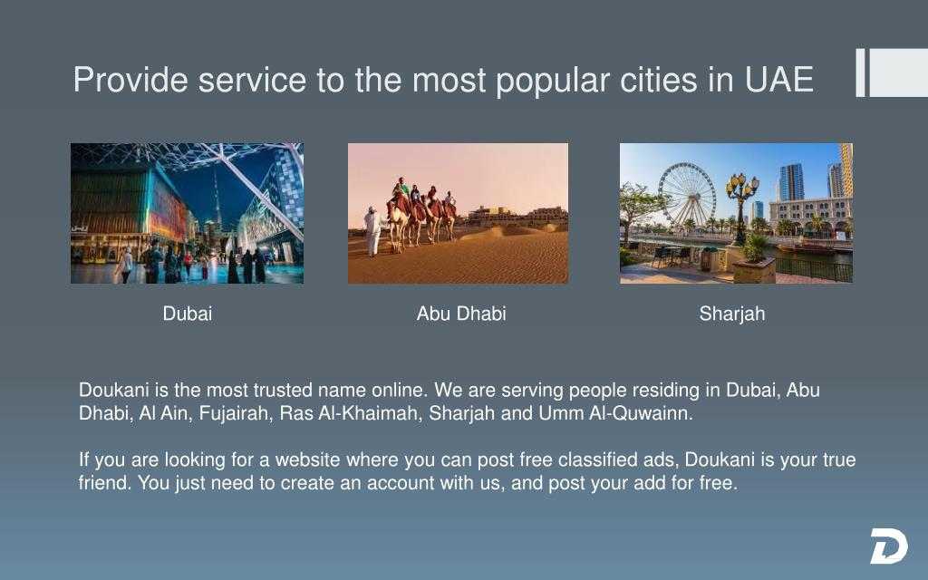PPT - Top Free Classified Site in UAE - Doukani PowerPoint