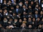 rabbis gather to pose for a group photo in front
