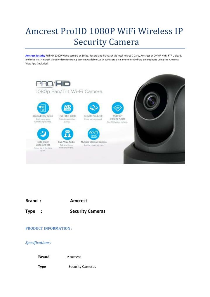 Amcrest Nvr Motion Detection Setup
