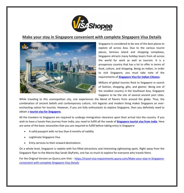 make your stay in singapore convenient with n.