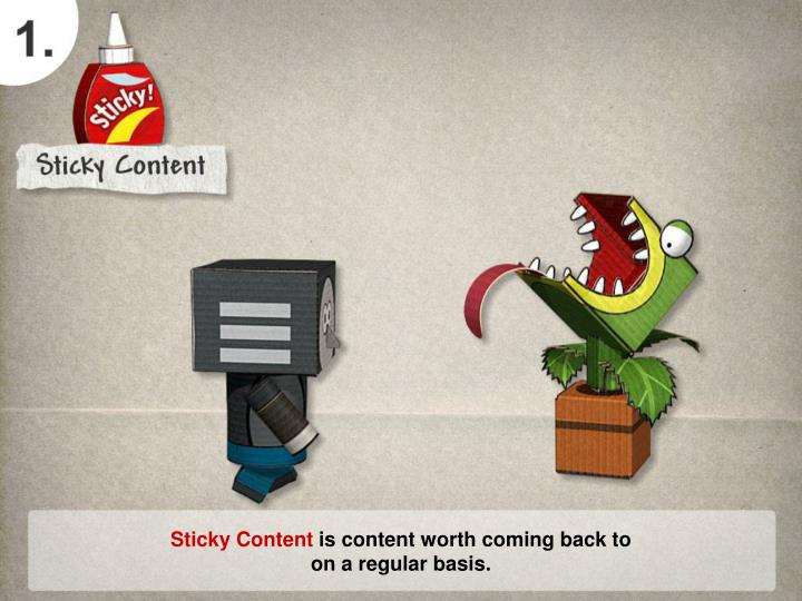 Sticky Content