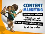 content marketing informs your audience with