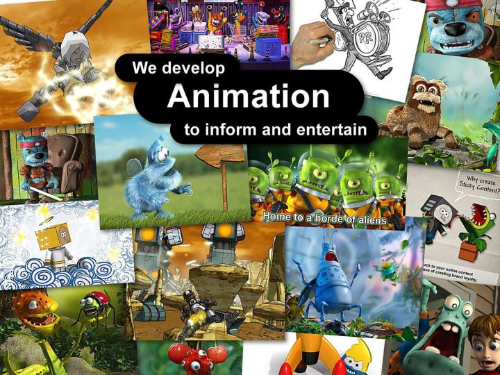 We develop Animation to inform and entertain.