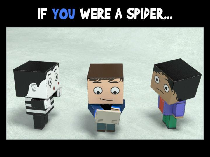 If you were a spider…