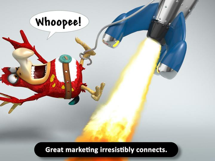 Great marketing irresistibly connects.