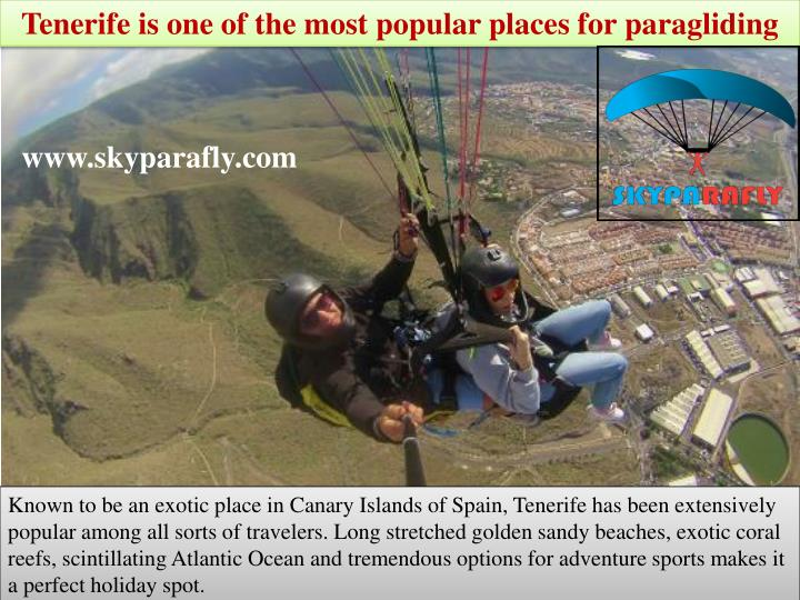 tenerife is one of the most popular places n.