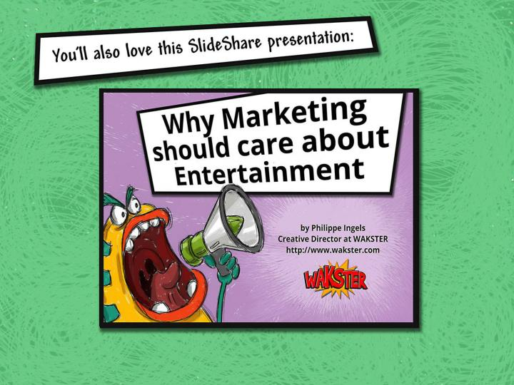 You will also love this Slideshare presentation:
