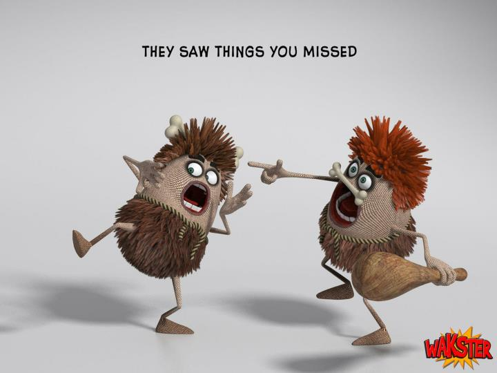 1. The saw things you missed