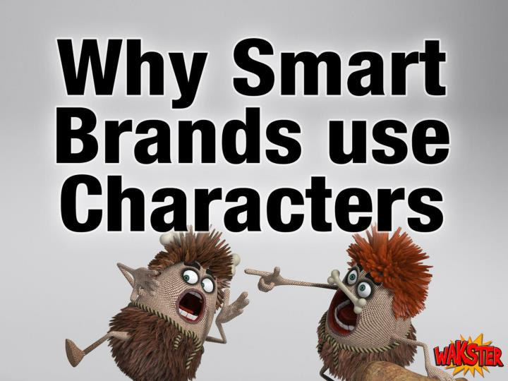 why smart brands use characters n.