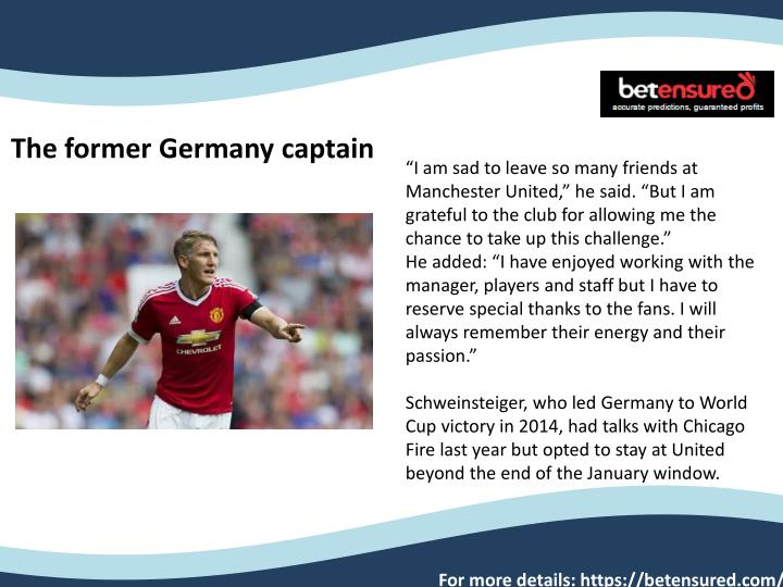 the former germany captain n.