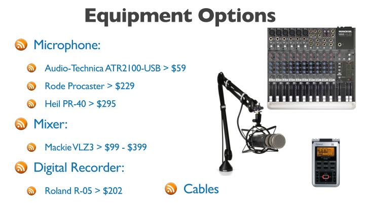 Equipment Options