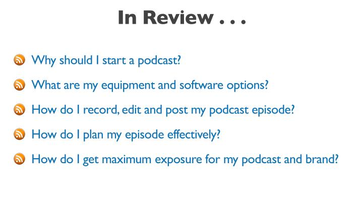 In Review . . .