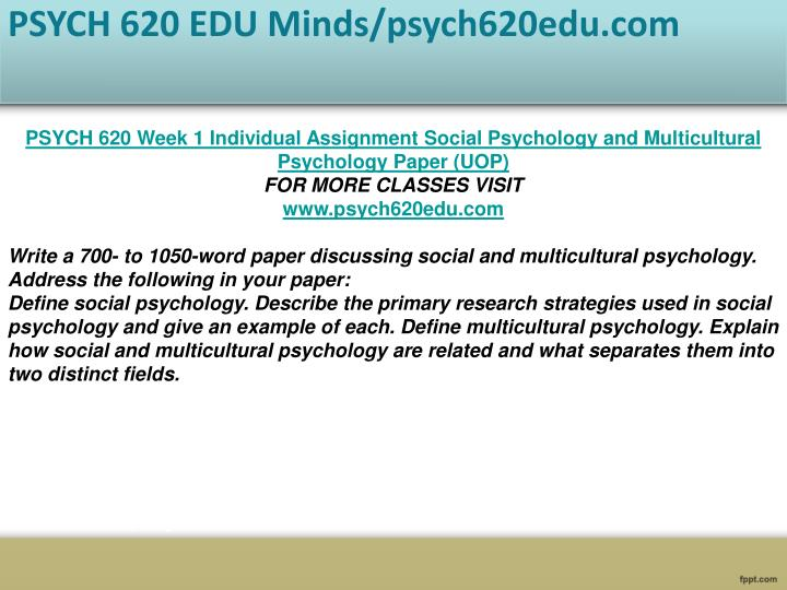 social psychology and multicultural psychology essay A multicultural psychology phrase here is provide formal access to a conceptual-notational system provides formal access to a phenomenon when it provides everything needed for an explicit,.