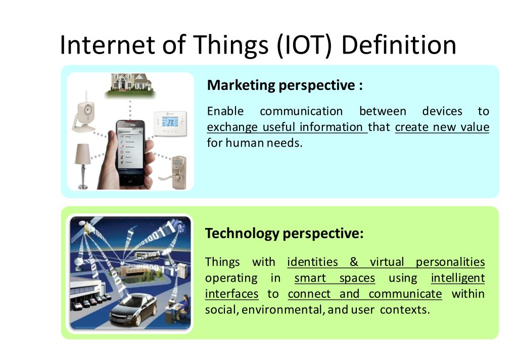 PPT - Internet of Things (IOT) - Technology and Applications