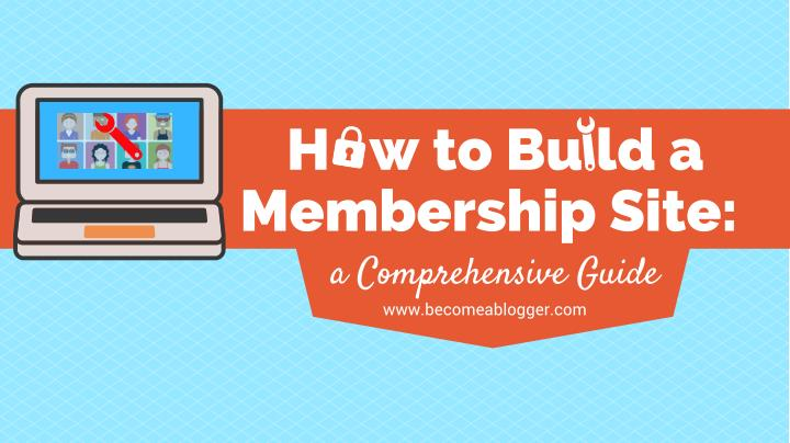 H w to bu ld a membership site a comprehensive