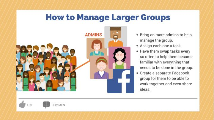 How to Manage Larger Groups