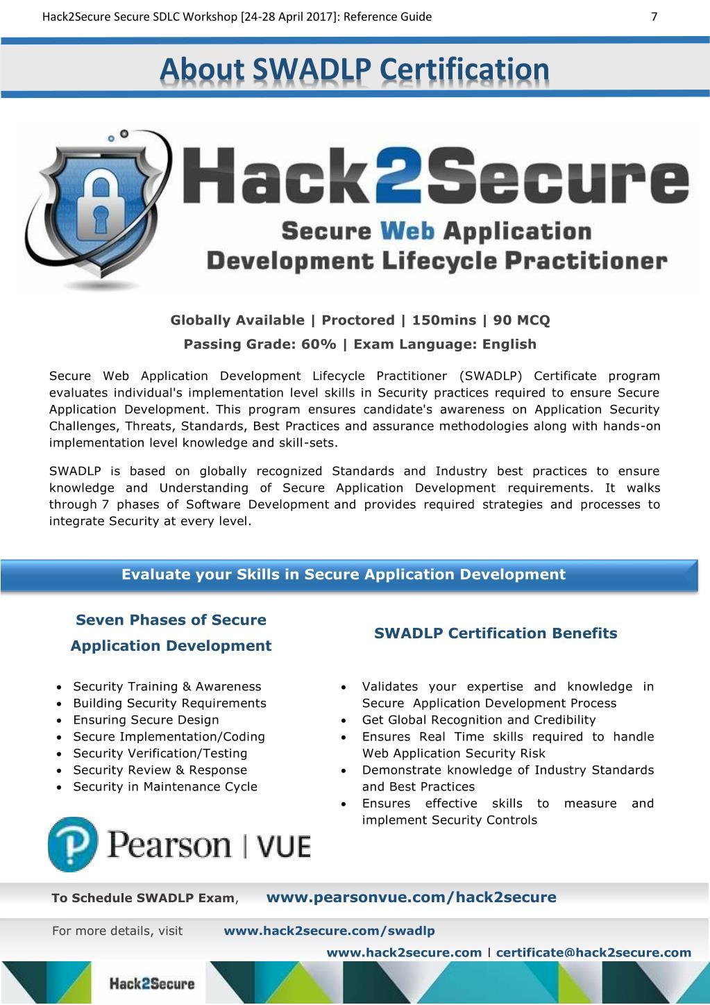 PPT - Hack2Secure SECURE SDLC Workshop PowerPoint