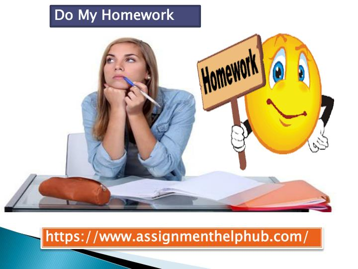 Do my homework service