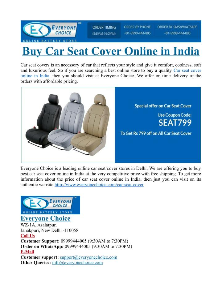 Marvelous Ppt Buy Car Seat Cover Online In India Powerpoint Gmtry Best Dining Table And Chair Ideas Images Gmtryco