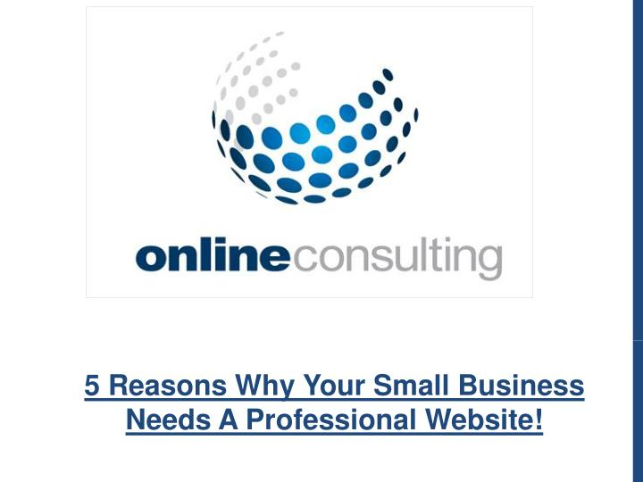 5 reasons why your small business needs n.