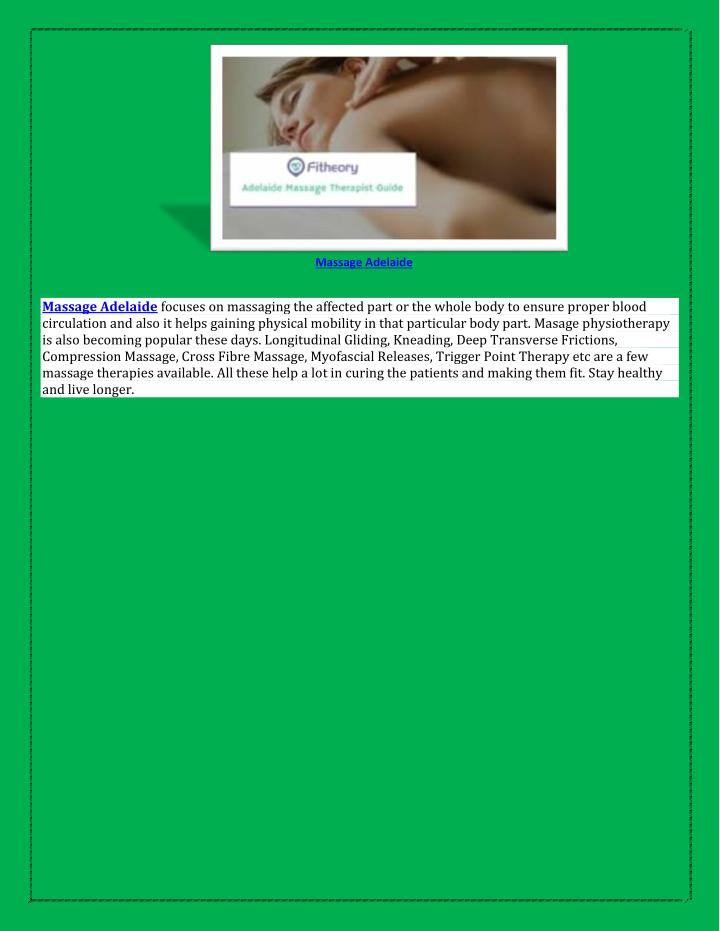 pinoy body slide massage adelaide