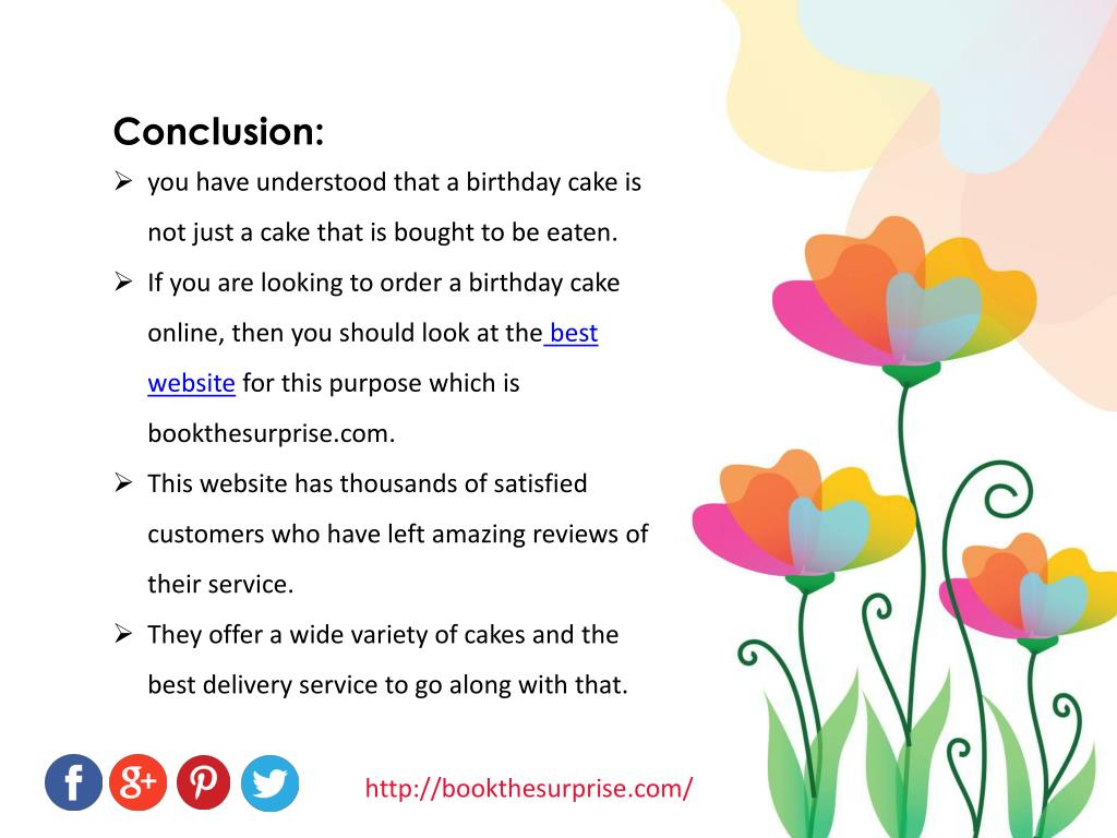 Stupendous Ppt Birthday Cake Online Ordering Has Made It More Than Just A Personalised Birthday Cards Paralily Jamesorg