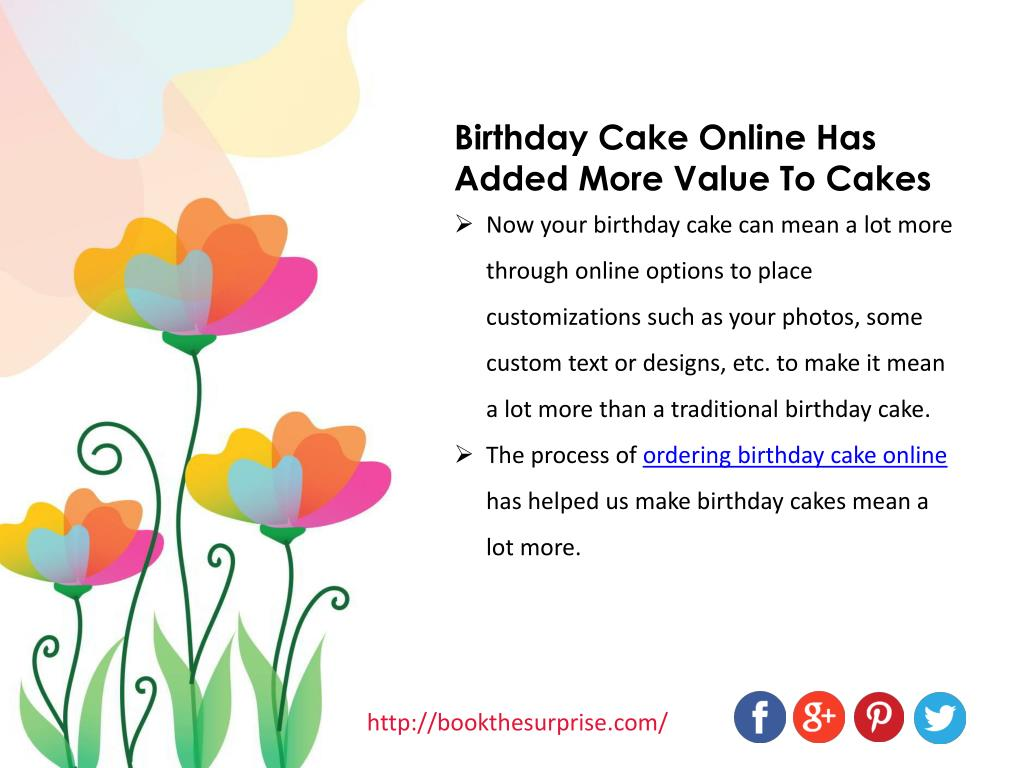 Awesome Ppt Cake Online Ordering Has Made It More Than Just A Cake Funny Birthday Cards Online Amentibdeldamsfinfo