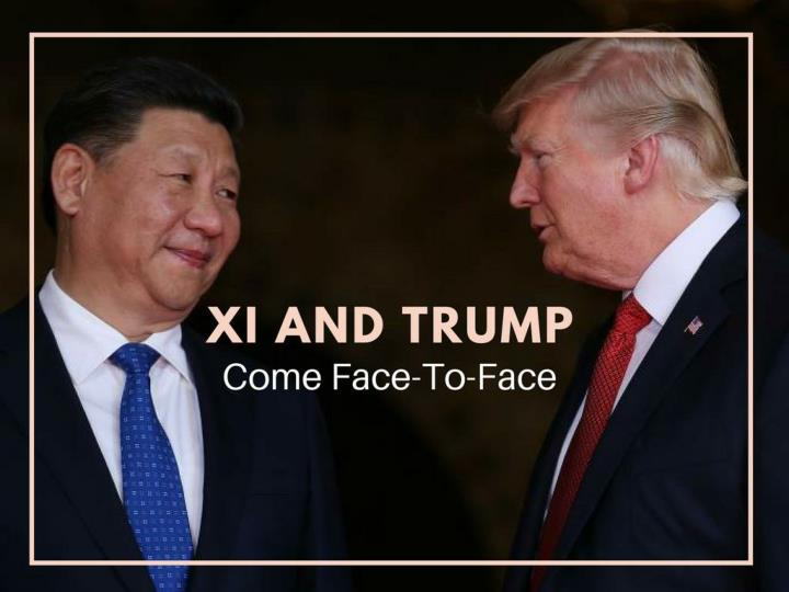 xi and trump come face to face n.