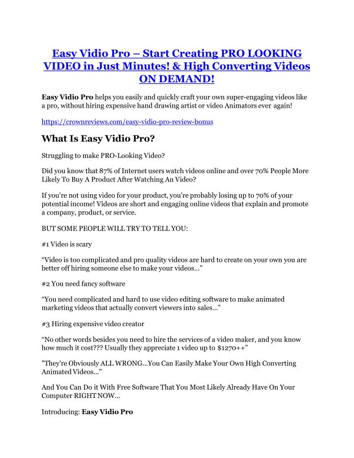 easy vidio pro start creating pro looking video n.