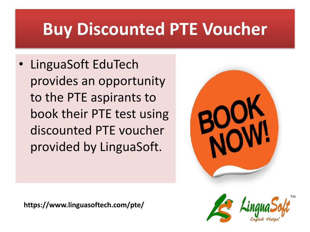 PPT - Discounted PTE vouchers PowerPoint Presentation - ID