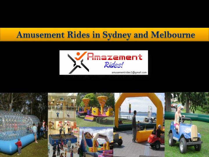 amusement rides in sydney and melbourne n.
