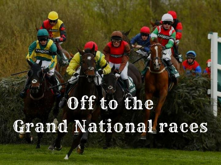 off to the grand national races n.