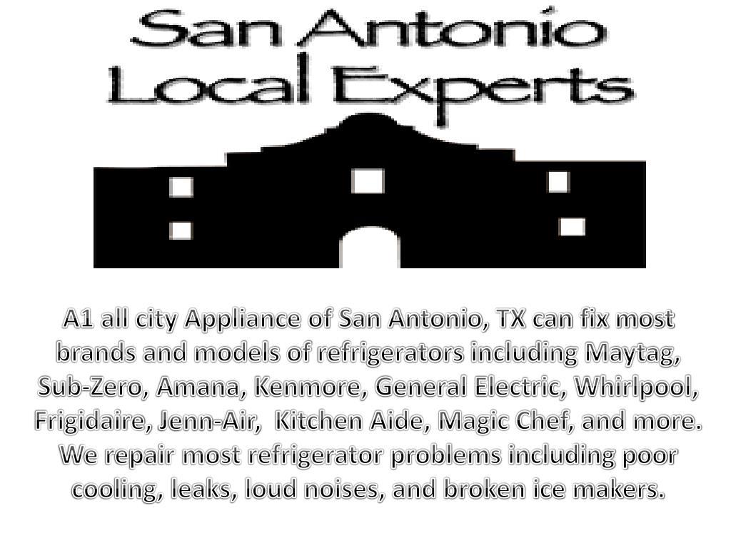 Ppt Top Refrigerator Repair San Antonio Powerpoint