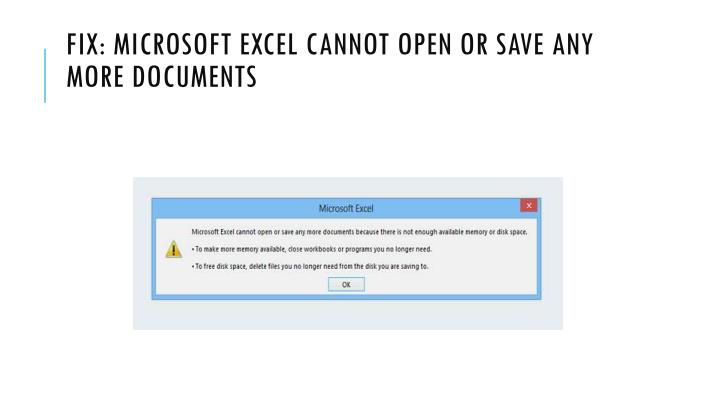 PPT - Fix: Word experienced an error trying to open the file