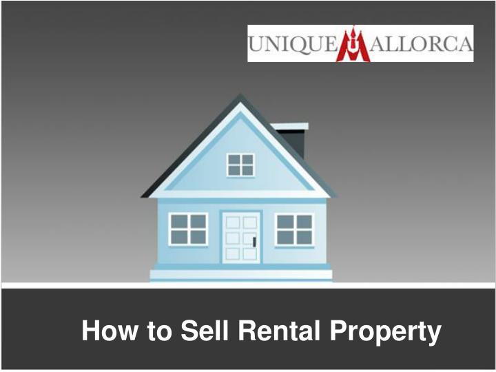 how to sell rental property n.