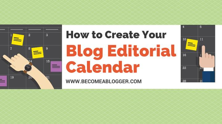 how to create your blog editorial calendar n.
