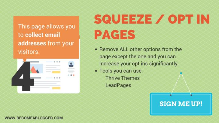 SQUEEZE / OPT IN