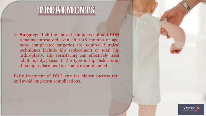 Treatment of hip dysplasia in adults