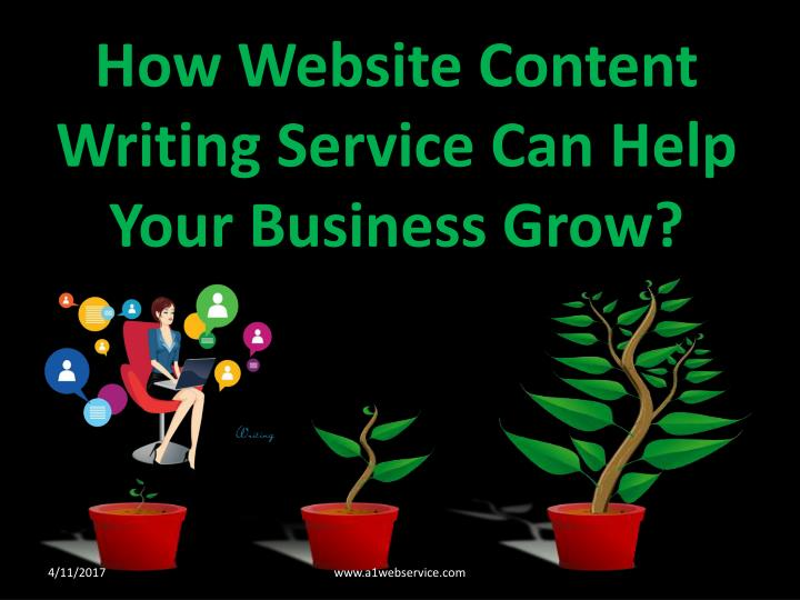 how website content writing service can help your n.