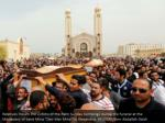 relatives mourn the victims of the palm sunday